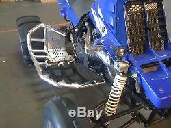 Yamaha Banshee YFZ 350 Nerf Bars Pro Peg Alba Racing Black/Black 207-T7-BB