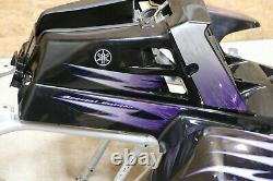 Yamaha Banshee fenders + gas tank plastic grill + graphics BLACK PURPLE 2005 SE