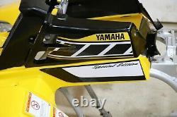 Yamaha Banshee fenders + gas tank plastic + grill + graphics BLACK & YELLOW A-1