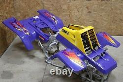 Yamaha Banshee fenders + gas tank plastic grill + graphics VIOLET PURPLE 1994