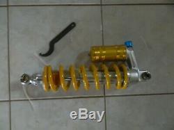 Yamaha Banshee rear shock 1987-2006 new reproduction shocks yellow