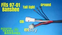 Yamaha Banshee wiring Harness (NEW) 97-01 NO TORS NO PARK BRAKE (3GG-10)