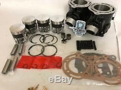 Yamaha YFZ350 Banshee 64mm Stock Bore Cylinders Top End Rebuild Repair Parts Kit