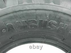 Yamaha Yfz 350 Banshee Ambush Sport Atv Tires 20x10-9 Rear (2 Tire Set)