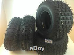 Yamaha Yfz 350 Banshee Massfx Sport Atv Tires (4 Tires) 21x7-10, 20x10-9
