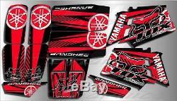 Yamaha banshee full graphics kit. THICK AND HIGH GLOSS