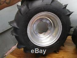 Yfz 350 Yamaha Banshee 1998 Rear Wheels Itp Rims With Brand New Itp Sand Tires